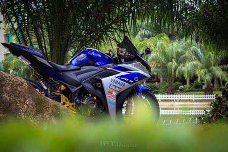 Yamaha YZF-R3 len nhieu do choi cua biker Viet - Anh 3