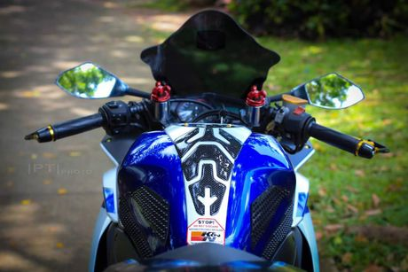 Yamaha YZF-R3 len nhieu do choi cua biker Viet - Anh 4