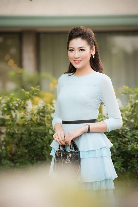Hoa hau Ngoc Han hoi ngo dan nguoi dep HHVN 2016 - Anh 3