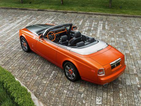 Rolls-Royce gioi thieu Phantom Drophead Coupe dac biet - Anh 1