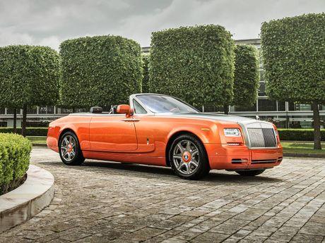 Rolls-Royce gioi thieu Phantom Drophead Coupe dac biet - Anh 2