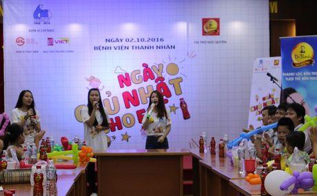 'Ngay chu nhat cho em' tham benh nhi o benh vien Thanh Nhan - Anh 6