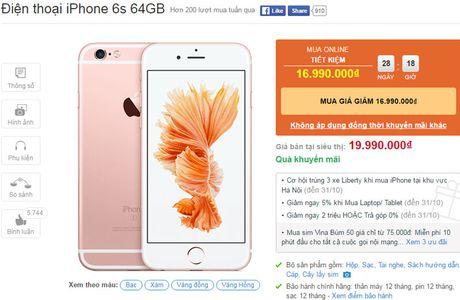 iPhone 6s va iPhone 6s Plus giam gia soc - Anh 3