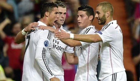Ket qua tran Real Madrid - Eibar: Ken Ken Trang thoat hiem - Anh 1