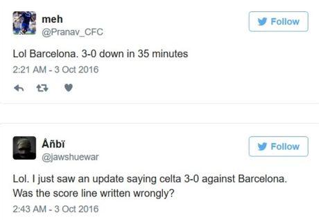 Barca thua, cong dong mang 'cuoi ra nuoc mat', nho Messi, mia mai Enrique, mung cho Real Madrid - Anh 2