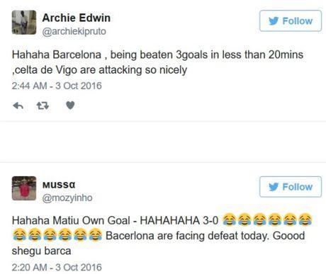 Barca thua, cong dong mang 'cuoi ra nuoc mat', nho Messi, mia mai Enrique, mung cho Real Madrid - Anh 3