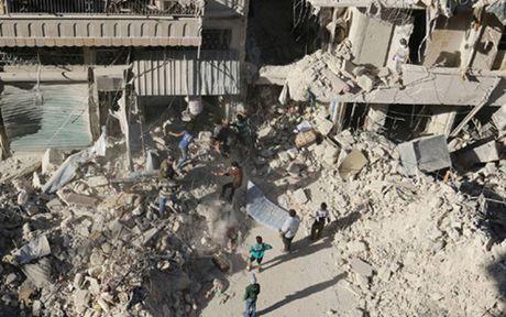 Quan doi Syria hoi thuc phe doi lap roi Aleppo - Anh 1