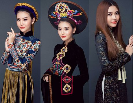 Ngam quoc phuc cua chan dai du thi Miss Global Beauty Queen - Anh 1