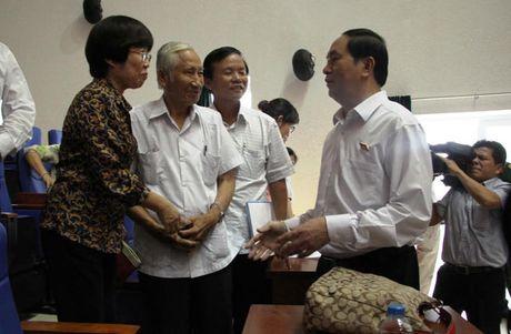 Chu tich nuoc: 'Toi pham tham nhung tron di dau cung khong thoat' - Anh 2