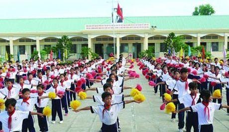 Lai Chau: Phan dau 95% so co quan, truong hoc dat chuan van hoa - Anh 1