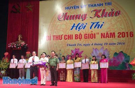 Huyen Thanh Tri thi bi thu chi bo gioi - Anh 1