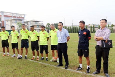 'Doi U.19 Viet Nam can phai thay doi hoan toan bo mat tai giai U.19 chau A' - Anh 1