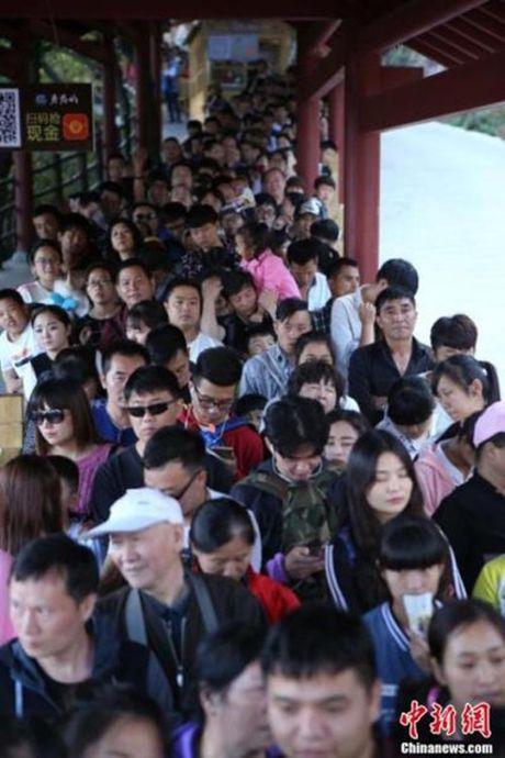 """""""Hoa mat chong mat"""" ngam nhin nguoi dan Trung Quoc huong Tuan le vang - Anh 7"""