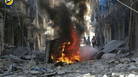 Danh bom dam cuoi tai Syria, 30 nguoi thiet mang - Anh 1