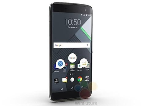 Dien thoai BlackBerry DTEK60 lo cau hinh - Anh 1