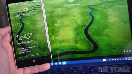 Windows Hello se som ho tro thiet bi Android va iOS - Anh 1