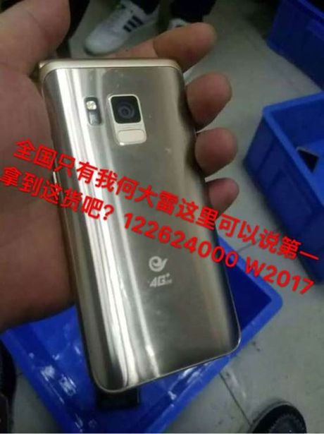 Smartphone nap gap cao cap cua Samsung sap ra mat - Anh 1