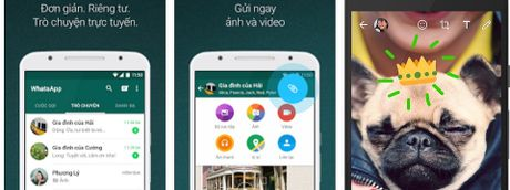 WhatsApp tich hop them tinh nang ve doodle cho hinh va video goi khi chat - Anh 1
