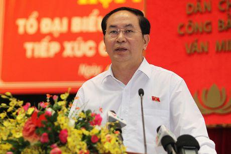 "Chu tich nuoc: ""Khong co vung cam trong phong chong tham nhung"" - Anh 1"