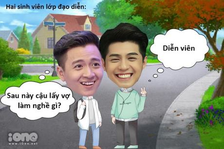 Idol cuoi (10): Ly do lay vo lam dien vien - Anh 1