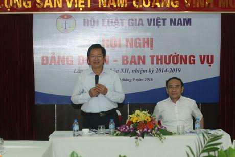 Hoi nghi Dang doan - Ban Thuong vu Trung uong Hoi Luat gia Viet Nam - Anh 14