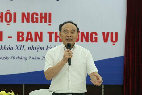 Hoi nghi Dang doan - Ban Thuong vu Trung uong Hoi Luat gia Viet Nam - Anh 8