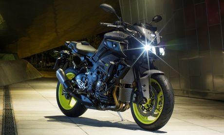 Yamaha MT-10 Night Flou 2016 dau tien tai Viet Nam co gi dac biet? - Anh 1