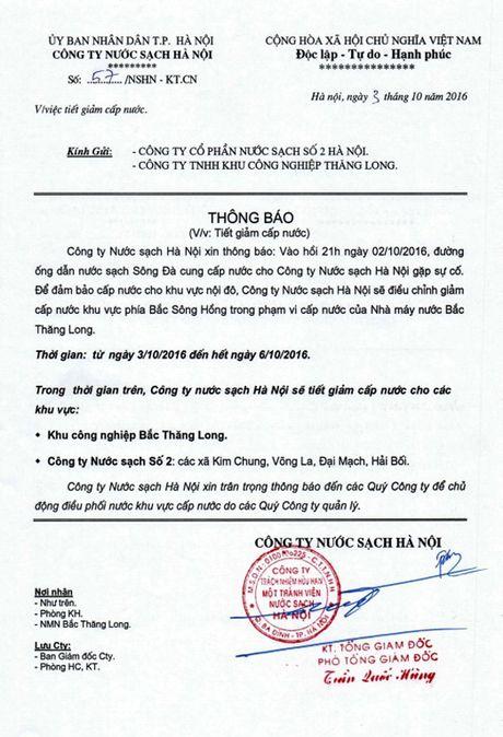 Ha Noi: Lan thu 20, duong ong dan nuoc sach Song Da gap su co - Anh 1