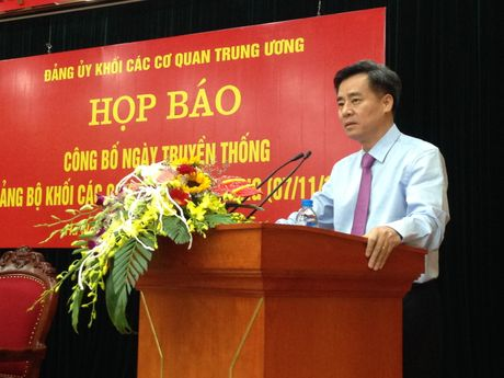 7/11 la Ngay truyen thong cua Dang bo Khoi cac co quan Trung uong - Anh 1