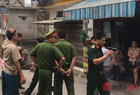 Nguoi dan nghi co vu dat min o ngo 670 duong Nguyen Khoai, Ha Noi - Anh 1