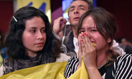 "Cu tri Colombia noi ""khong"" voi thoa thuan hoa binh - Anh 1"