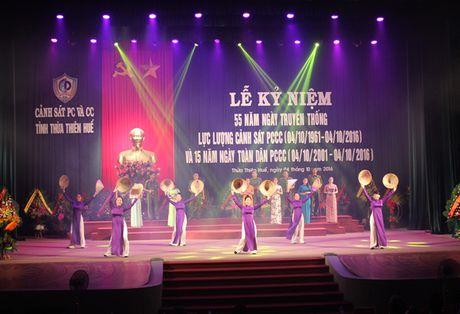 Canh sat PCCC Thua Thien - Hue trong the ky niem 55 nam Ngay truyen thong - Anh 1