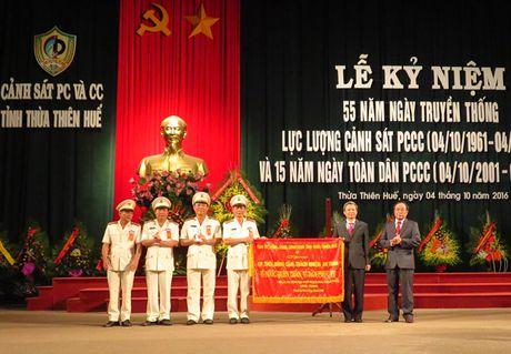 Canh sat PCCC Thua Thien - Hue trong the ky niem 55 nam Ngay truyen thong - Anh 3