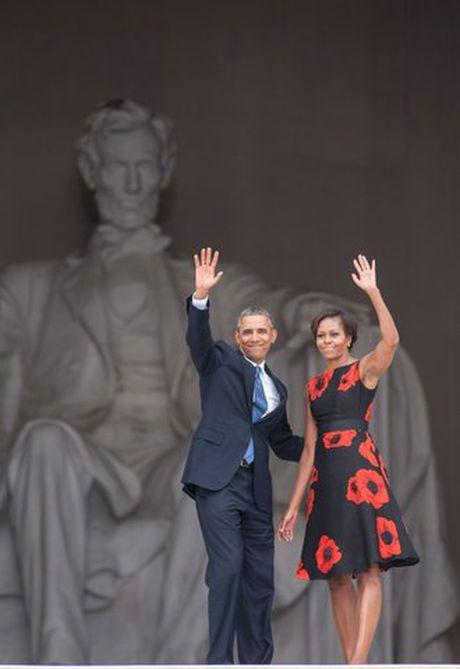 Khoanh khac ngot ngao cua 'ong ba Obama' trong 24 nam 'chung doi' - Anh 14