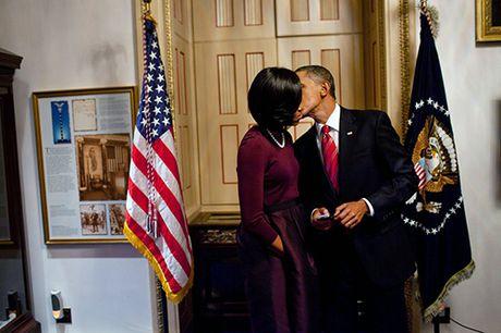 Khoanh khac ngot ngao cua 'ong ba Obama' trong 24 nam 'chung doi' - Anh 2