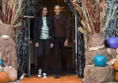 Khoanh khac ngot ngao cua 'ong ba Obama' trong 24 nam 'chung doi' - Anh 7