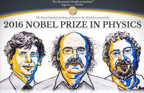 Ba nha khoa hoc Anh cung am giai Nobel Vat ly - Anh 1