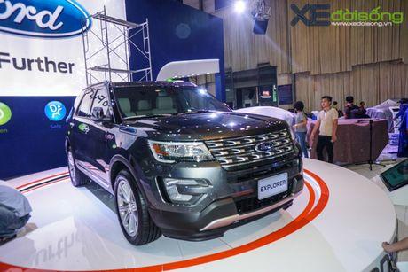 SUV co lon Ford Explorer la tam diem cua Ford Viet Nam tai VMS 2016 - Anh 1