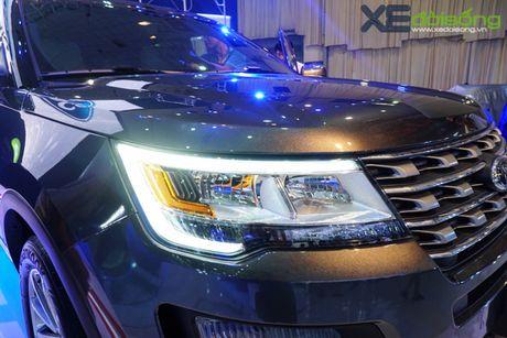 SUV co lon Ford Explorer la tam diem cua Ford Viet Nam tai VMS 2016 - Anh 2