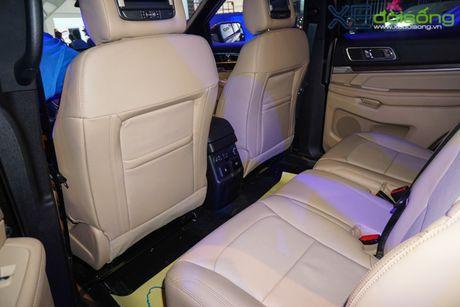 SUV co lon Ford Explorer la tam diem cua Ford Viet Nam tai VMS 2016 - Anh 4