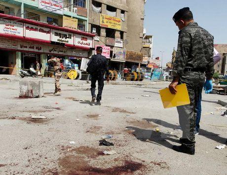 Iraq: Danh bom lieu chet o Baghdad, hon 30 nguoi thuong vong - Anh 1