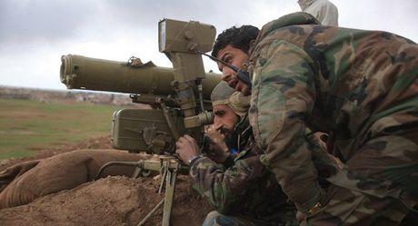 Quan doi Syria danh bom diet mot thu linh phien quan - Anh 1