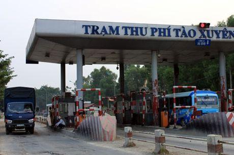 Kiem tra thu phi Tram BOT Tao Xuyen moi (Thanh Hoa) - Anh 1