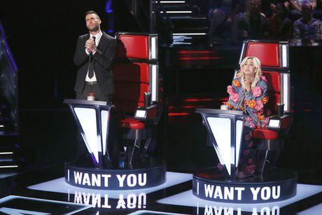 Miley Cyrus va ke hoach 4 buoc 'chien va thang' tai The Voice US - Anh 3