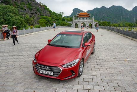 Hyundai Elantra 2016 phieu tren hanh trinh tim ve co do Hoa Lu - Anh 5