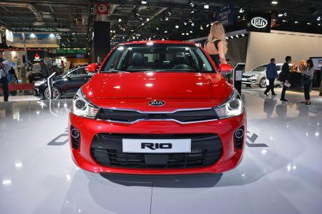 Kia Rio the he thu 4 trinh lang, tang suc ep len Toyota Vios - Anh 1