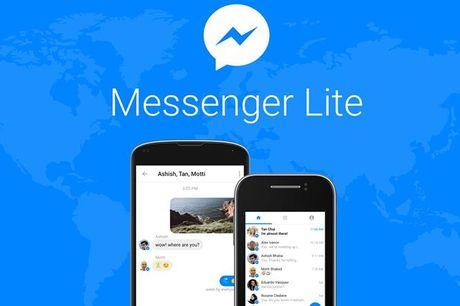 Facebook cung cap phien ban Messenger Lite sieu nhe cho cac thiet bi Android doi cu - Anh 1