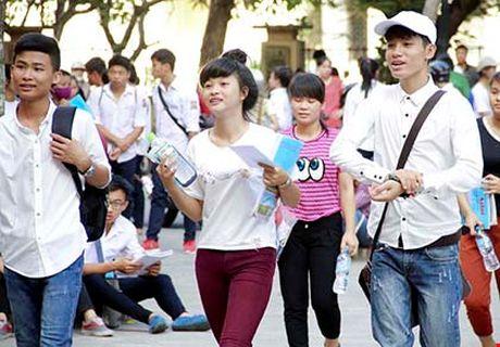 Ha Noi: Trien khai cong tac chuan bi cho ky thi THPT quoc gia 2017 - Anh 1