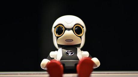 Nhat Ban phat minh robot em be cho phu nu khong con - Anh 1