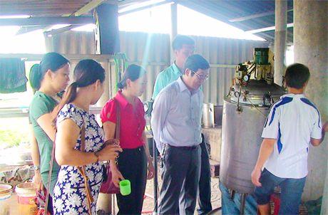 Quang Tri: Ung dung cong nghe tiet kiem nang luong vao san xuat duoc lieu - Anh 1